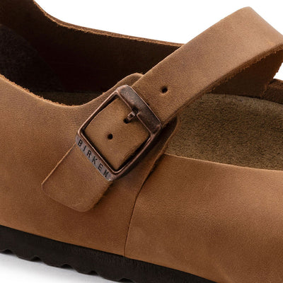 Birkenstock Shoes, Mantova, Oiled Leather, Antique Brown