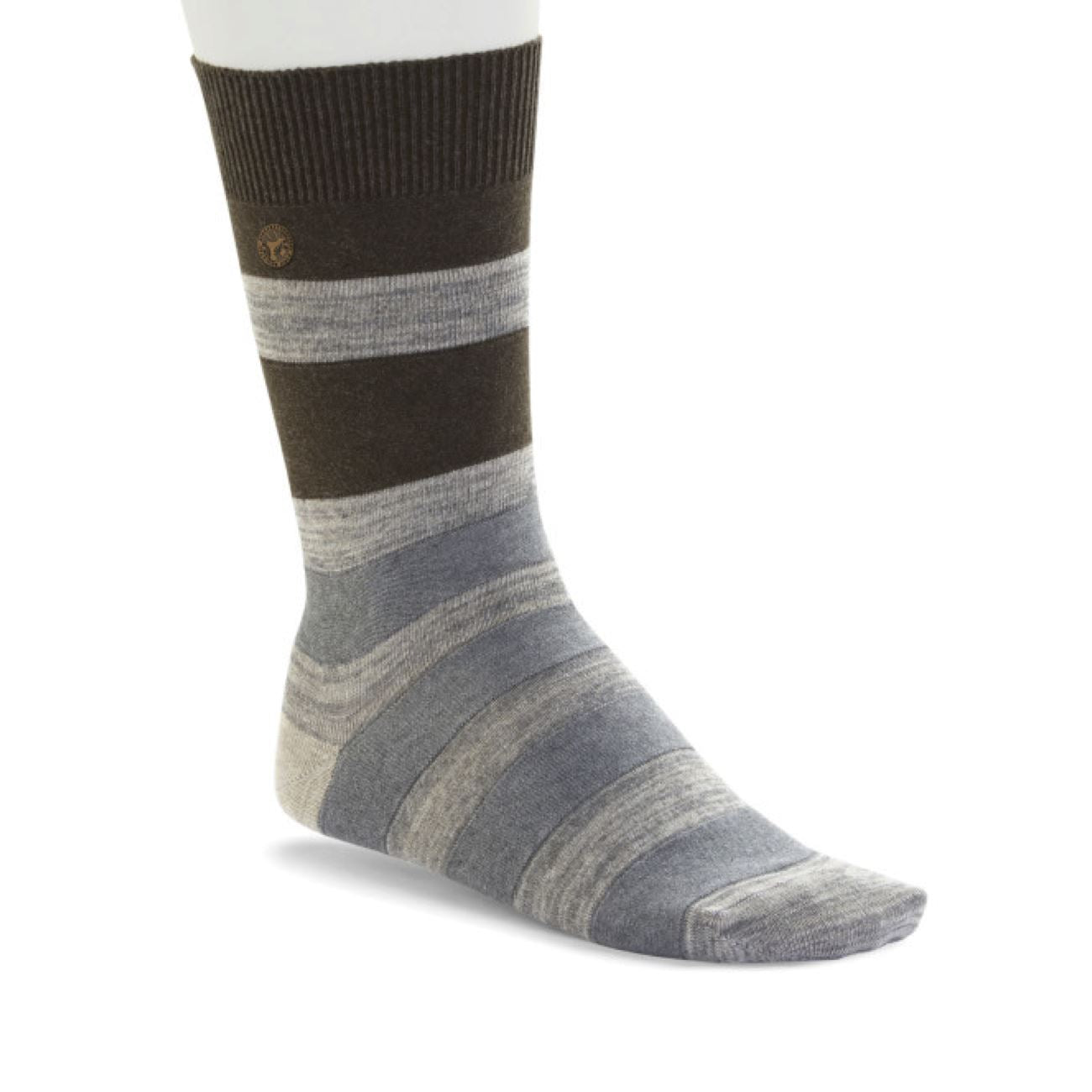 Birkenstock Socks, Fashion Stripe MEN, Camel Melange Socks Birkenstock Socks Camel melange 39