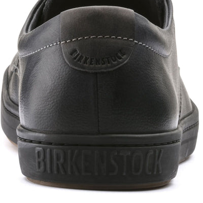 Birkenstock Shoes, Navarino, Natural Leather, Regular Fit, Black Shoes Birkenstock Shoes