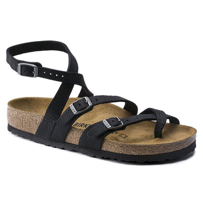 Birkenstock Classic, Seres, Oiled Leather, Regular Fit, Camberra Old Black at Birkenstock Hahndorf