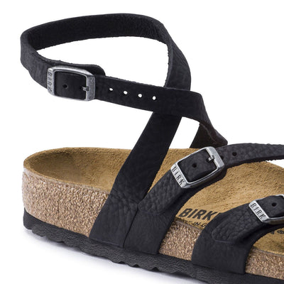 Birkenstock Classic, Seres, Oiled Leather, Regular Fit, Camberra Old Black Sandals Birkenstock Classic
