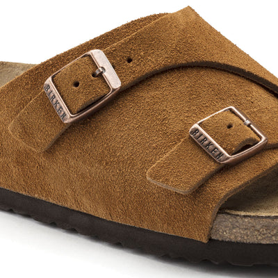 Birkenstock Classic, Zurich, Soft-Footbed, Narrow Fit, Suede, Mink