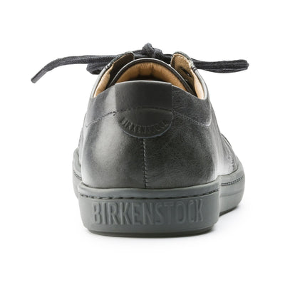 Birkenstock Shoes, Arran Men, Leather, Regular Fit, Aviator Black Shoes Birkenstock Shoes