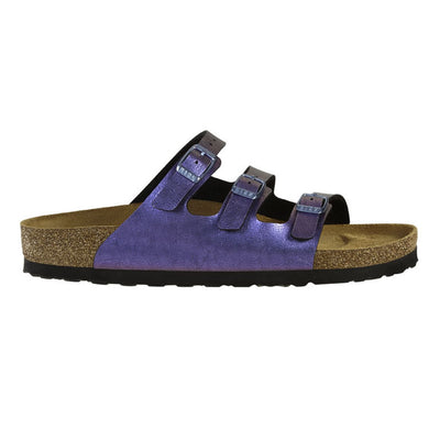 Birkenstock Classic, Florida, Fresh Graceful, Birko-Flor, Narrow Fit, Gemm Violet Sandals Birkenstock Classic