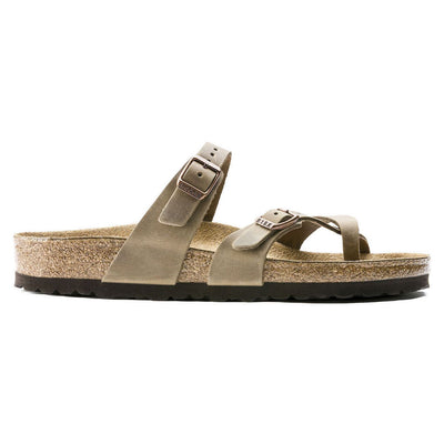 Birkenstock Classic, Mayari, Oiled Leather, Regular Fit, Tabacco Brown Sandals Birkenstock Classic