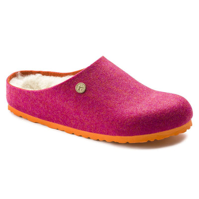 Birkenstock Classic, Kaprun Double Face, Regular Fit, Wool/Felt, Fuchsia House Shoes Birkenstock Classic Fuscia 37