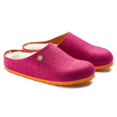 Birkenstock Classic, Kaprun Double Face, Regular Fit, Wool/Felt, Fuchsia House Shoes Birkenstock Classic