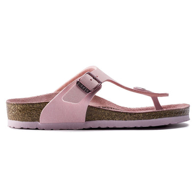 Birkenstock Kids, Gizeh, Birko-Flor Nubuck, Narrow Fit, Rose Sandals Birkenstock Kids