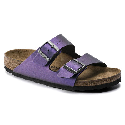 Birkenstock Seasonal, Arizona, Birko-Flor, Regular Fit, Violet Sandals Birkenstock Seasonal Violet 37