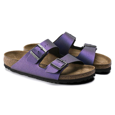 Birkenstock Seasonal, Arizona, Birko-Flor, Regular Fit, Violet Sandals Birkenstock Seasonal