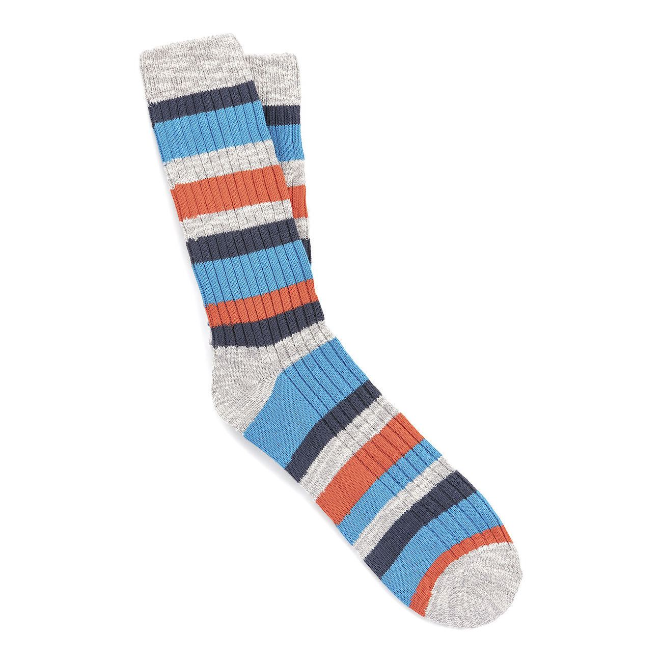 Birkenstock Socks, Slub Stripes M, Grey mel, 42-44 EU Socks Birkenstock Socks Grey mel 42-44 EU