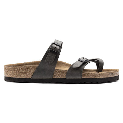 Birkenstock Vegan, Mayari, Pull Up, Vegan, Regular Fit, Anthracite Sandals Birkenstock Vegan