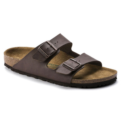 Birkenstock Vegan, Arizona, Microfibre, Regular Fit, Espresso Sandals Birkenstock Vegan Espresso 40