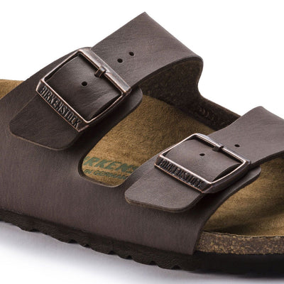 Birkenstock Vegan, Arizona, Microfibre, Regular Fit, Espresso Sandals Birkenstock Vegan
