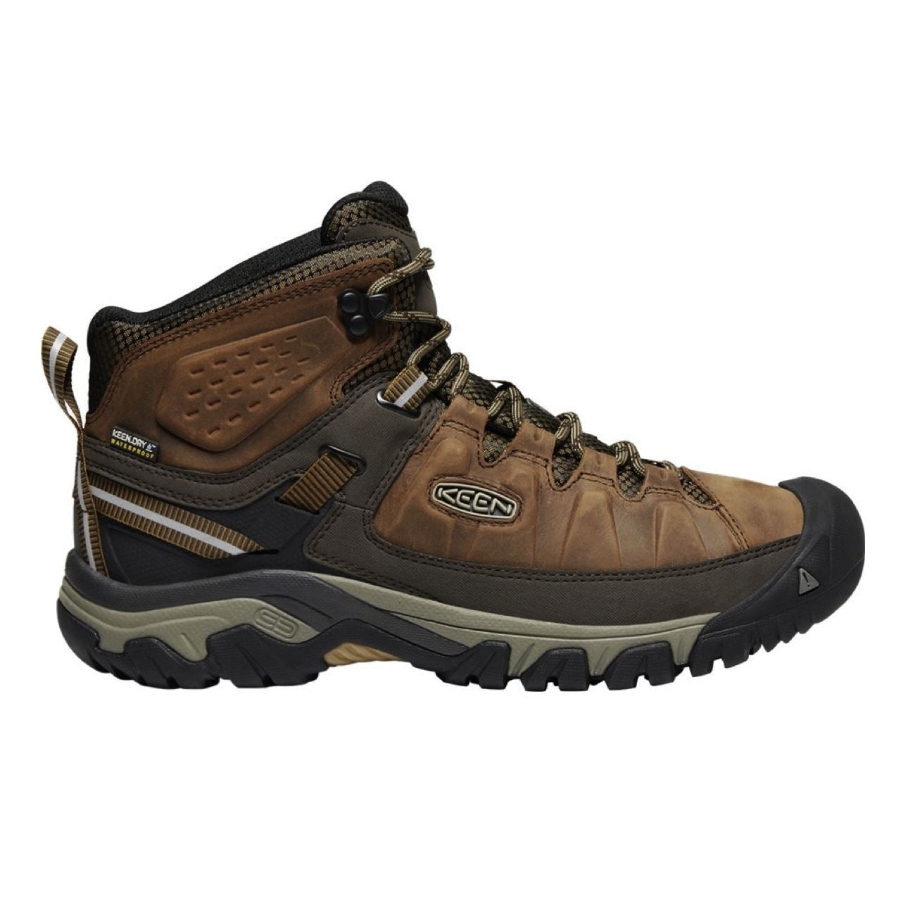 Keen, Targhee III Mid, Boot, Big Ben Golden Brown Hiking Boots Keen Big Ben Golden Brown 10