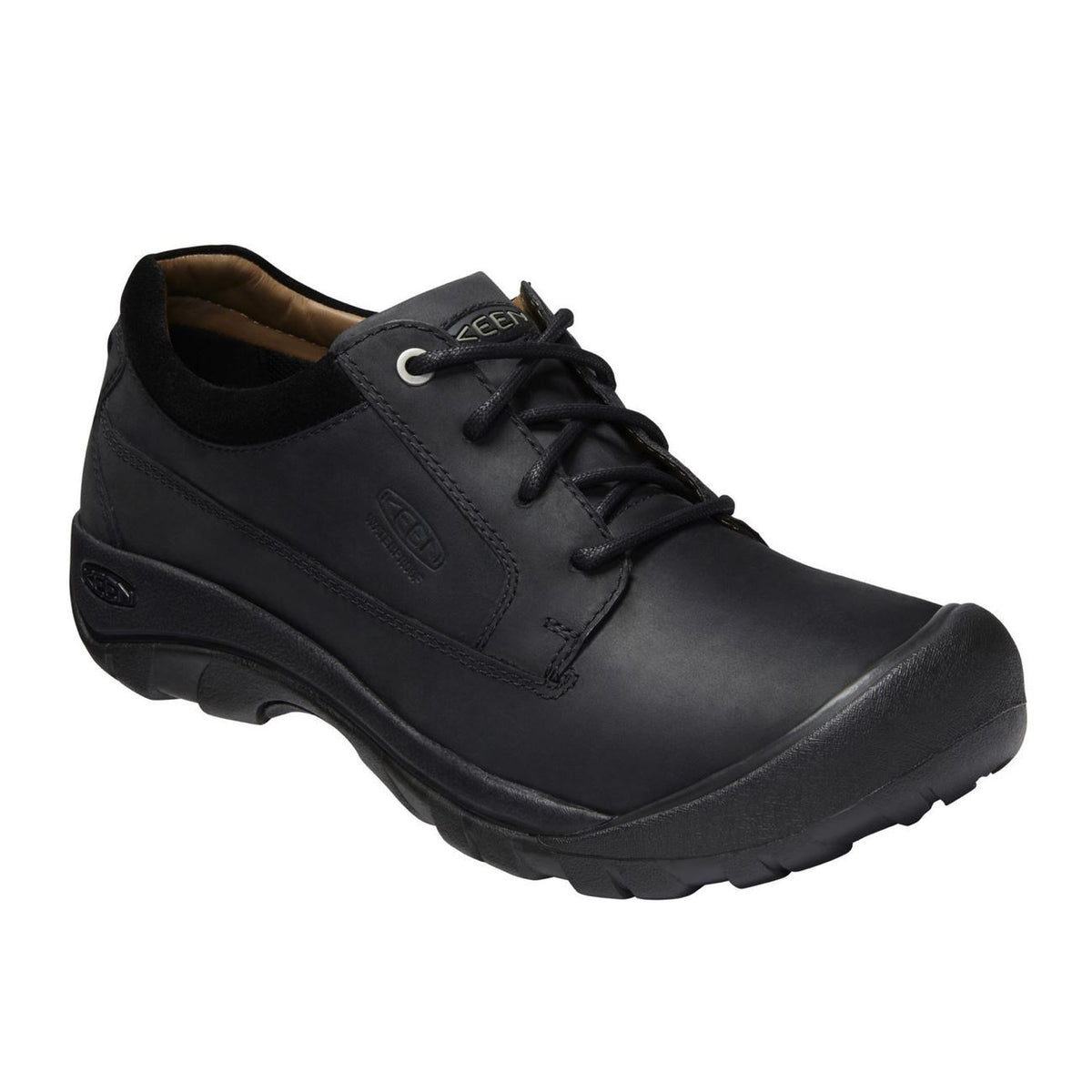 Keen, Austin Casual Mens, Shoes, Full Grain Leather, Black Shoes Keen Black 10