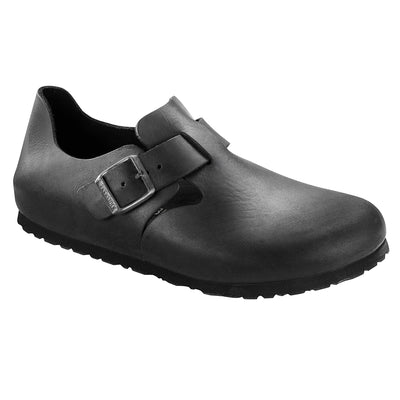 Birkenstock Shoes, London, Oiled Leather, Regular Fit, Black Shoes Birkenstock Shoes Black 37