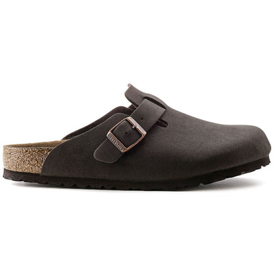 Birkenstock Classic, Boston, Microfibre, Vegan, Cocoa Brown