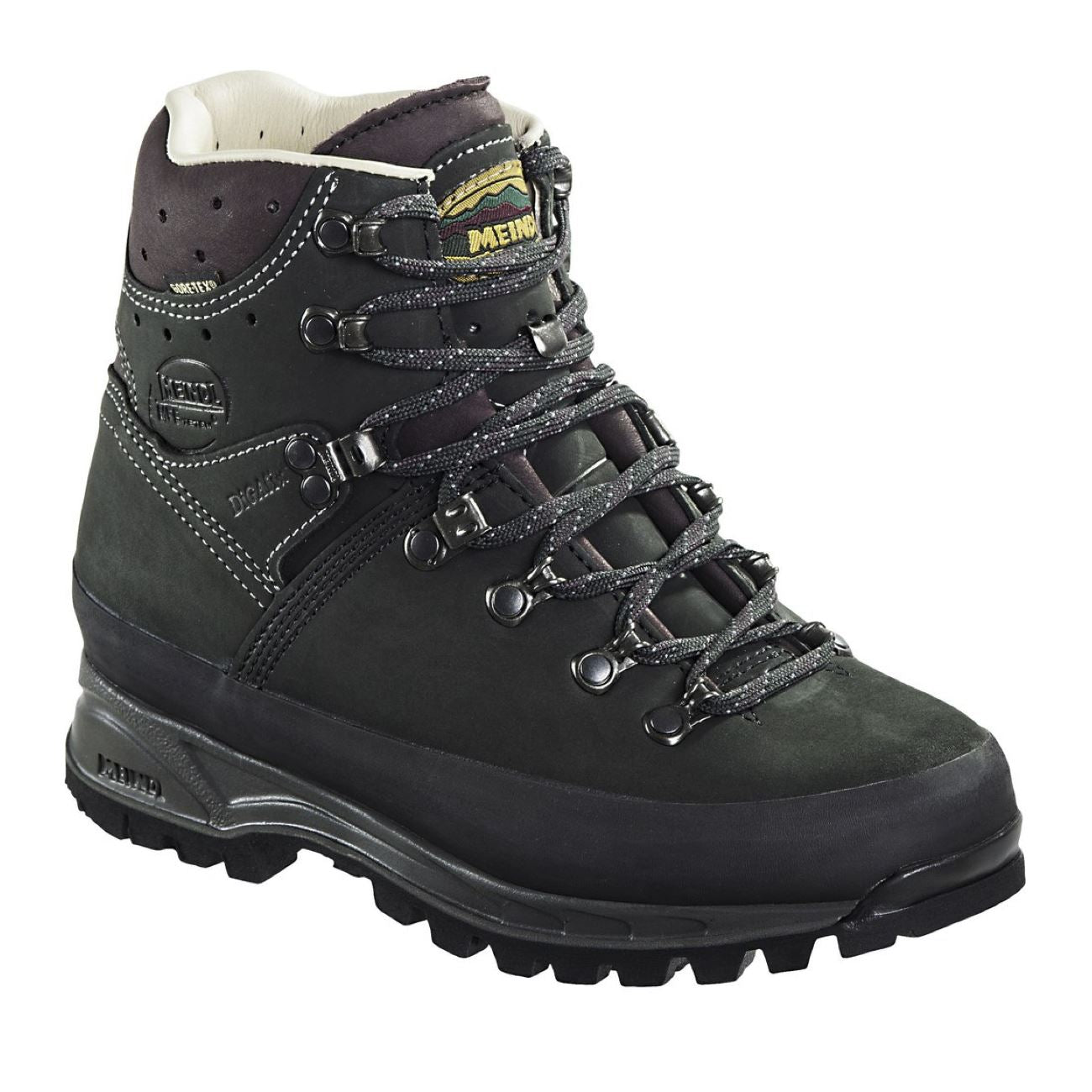 Meindl, Island Lady MFS Active, Medium Fit, Nubuck Leather / Gortex, Anthracite Bordeaux Hiking Boots Meindl Anthracite Bordeaux 6