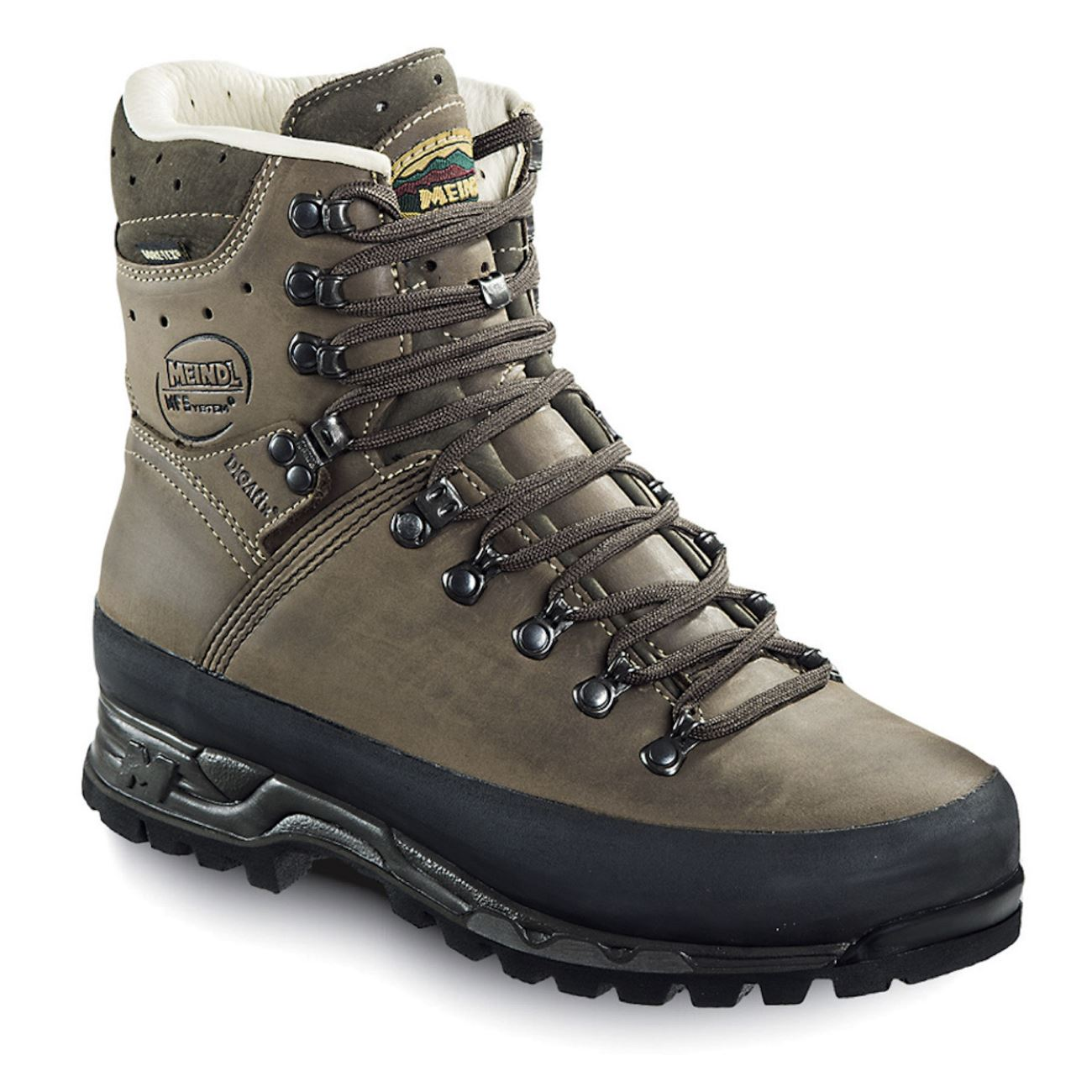 Meindl, Island MFS Active, Medium Fit, Nubuck Leather / Gortex, Brown Hiking Boots Meindl Brown 9