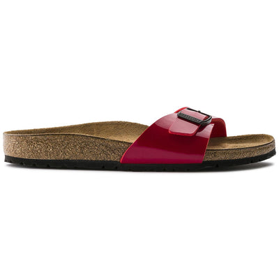 Birkenstock, Madrid, Regular Fit, Birko-Flor, Tango Red