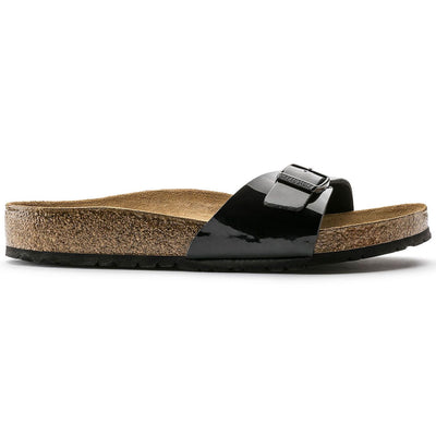Birkenstock Classic, Madrid, Birko Flor, Regular Fit, Black Patent