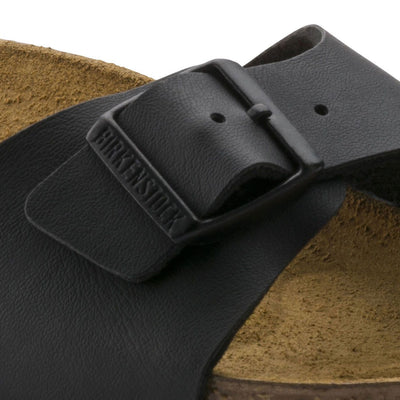 Birkenstock, Madrid, Narrow Fit, Birko-Flor, Black Sandals Birkenstock Classic