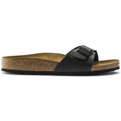 Birkenstock, Madrid, Regular Fit, Birko-Flor, Black - Birkenstock Hahndorf