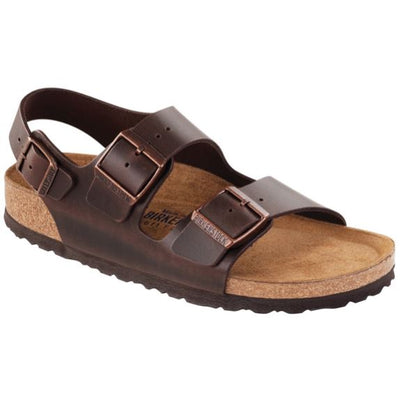 Birkenstock Classic, Milano, Natural Leather, Regular Fit Sandals Birkenstock Classic Habana 46