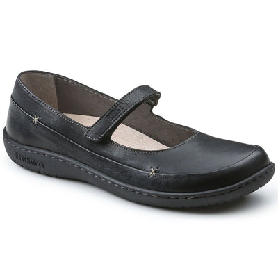 Birkenstock Shoes, Iona, Regular Fit, Natural Leather, Black Shoes Birkenstock Shoes Black 38