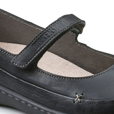 Birkenstock Shoes, Iona, Regular Fit, Natural Leather, Black
