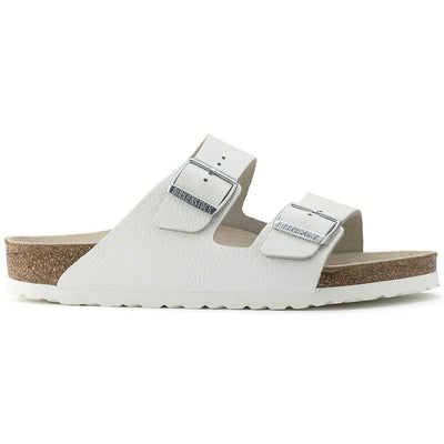 Birkenstock Classic, Arizona, Regular Fit, Leather, White Sandals Birkenstock Classic