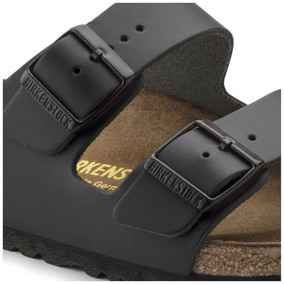 Birkenstock Classic, Arizona, Regular Fit, Smooth Leather, Black
