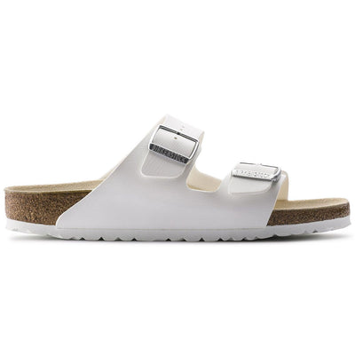 Birkenstock Classic, Arizona, Birko-Flor, Regular Fit, White Sandals Birkenstock Classic