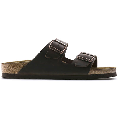 Birkenstock Classic, Arizona, Natural Leather, Regular Fit, Habana Sandals Birkenstock Classic