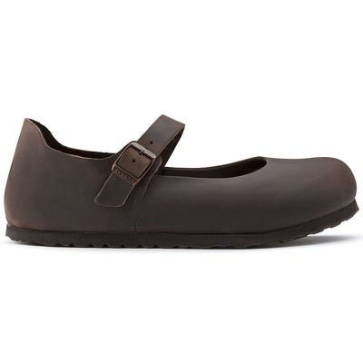Birkenstock Classic, Mantova, Oiled Leather, Narrow Fit, Habana Shoes Birkenstock Classic