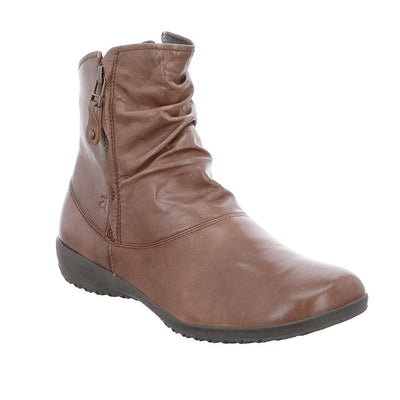 Josef Seibel, Naly 24, Leather, Boot, Ladies, Nut Boots Josef Seibel Nut 36