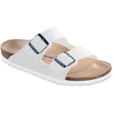 Birkenstock Classic, Arizona, Regular Fit, Leather, White Sandals Birkenstock Classic White 35