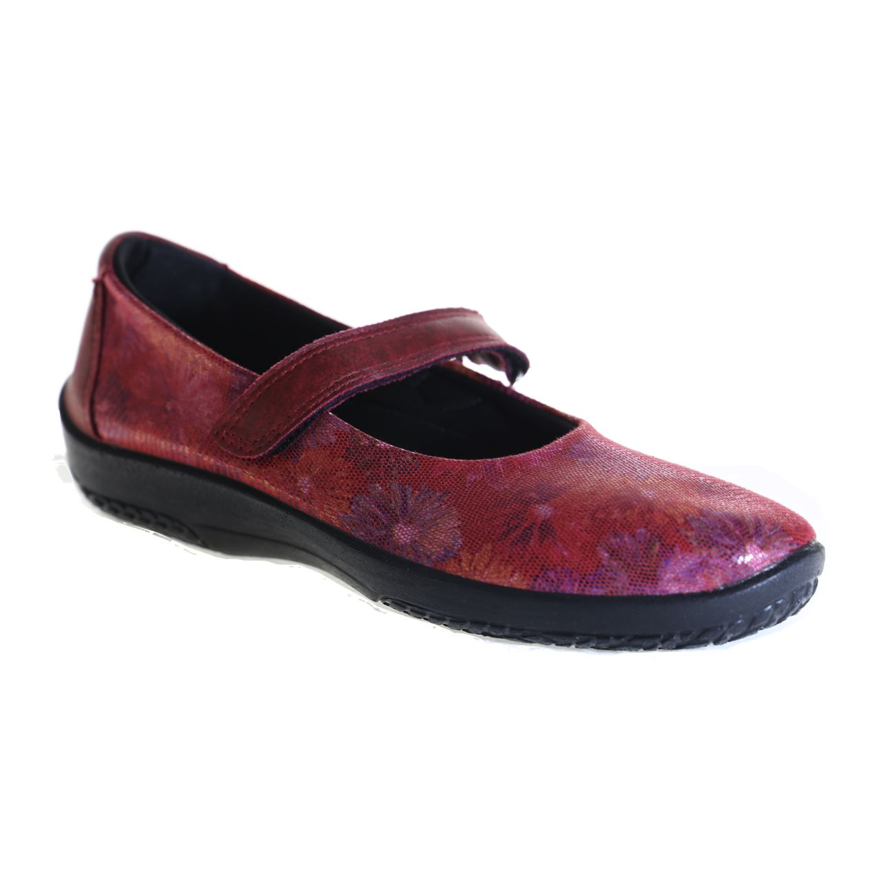 Arcopedico, L45 Floral, Lytech, Red Shoes Arcopedico Red 35