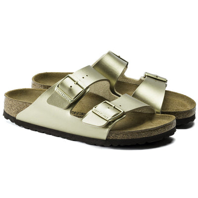 Birkenstock Seasonal, Arizona, Birko-Flor, Narrow Fit, Gold