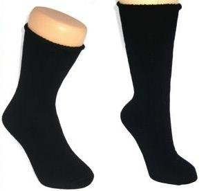 Mongrel Socks, Bamboo Full Cushion, Hypoallergenic, Antibacterial, Eco Friendly Black