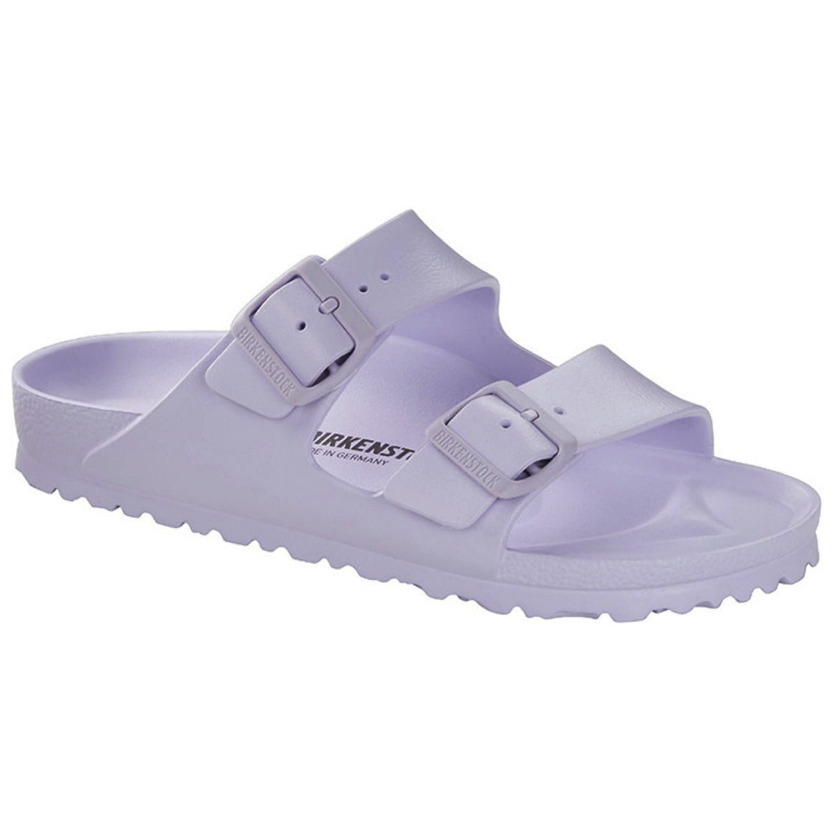 Birkenstock Seasonal, Arizona EVA, Narrow Fit, Purple Fog Sandals Birkenstock Seasonal Purple Fog 40