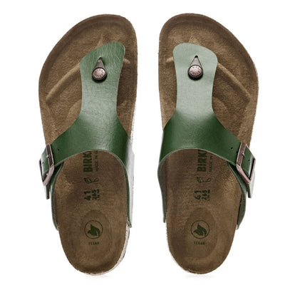 Birkenstock Vegan, Ramses, Birko-Flor, Regular Fit, Green Sandals Birkenstock Vegan