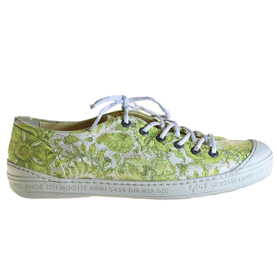 Eject, EJS18-09, Shoe, Leather, Green Print