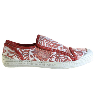 Eject, EJS18-10, Shoe, Leather, Red Print - Birkenstock Hahndorf