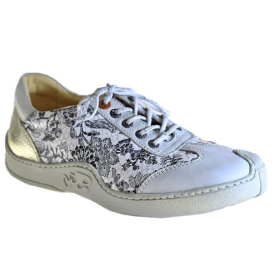 Eject, EJS18-12, Shoe, Leather, Off White / Print Shoes Eject Off White / Print 37