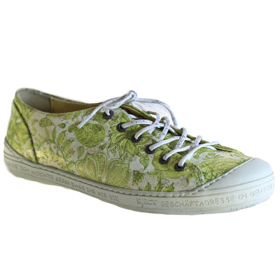 Eject, EJS18-09, Shoe, Leather, Green Print Shoes Eject Green Print 37