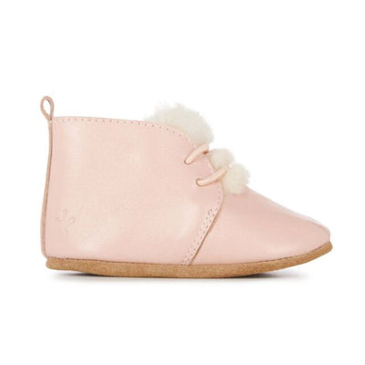 Emu Australia, Poppy, Leather Booties, Dusty Pink Ugg Boots Emu Australia