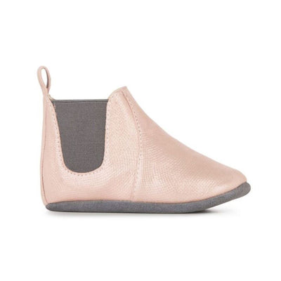 Emu Australia, Ruby Metallic, Leather Booties, Dusty Pink Shoes Emu Australia