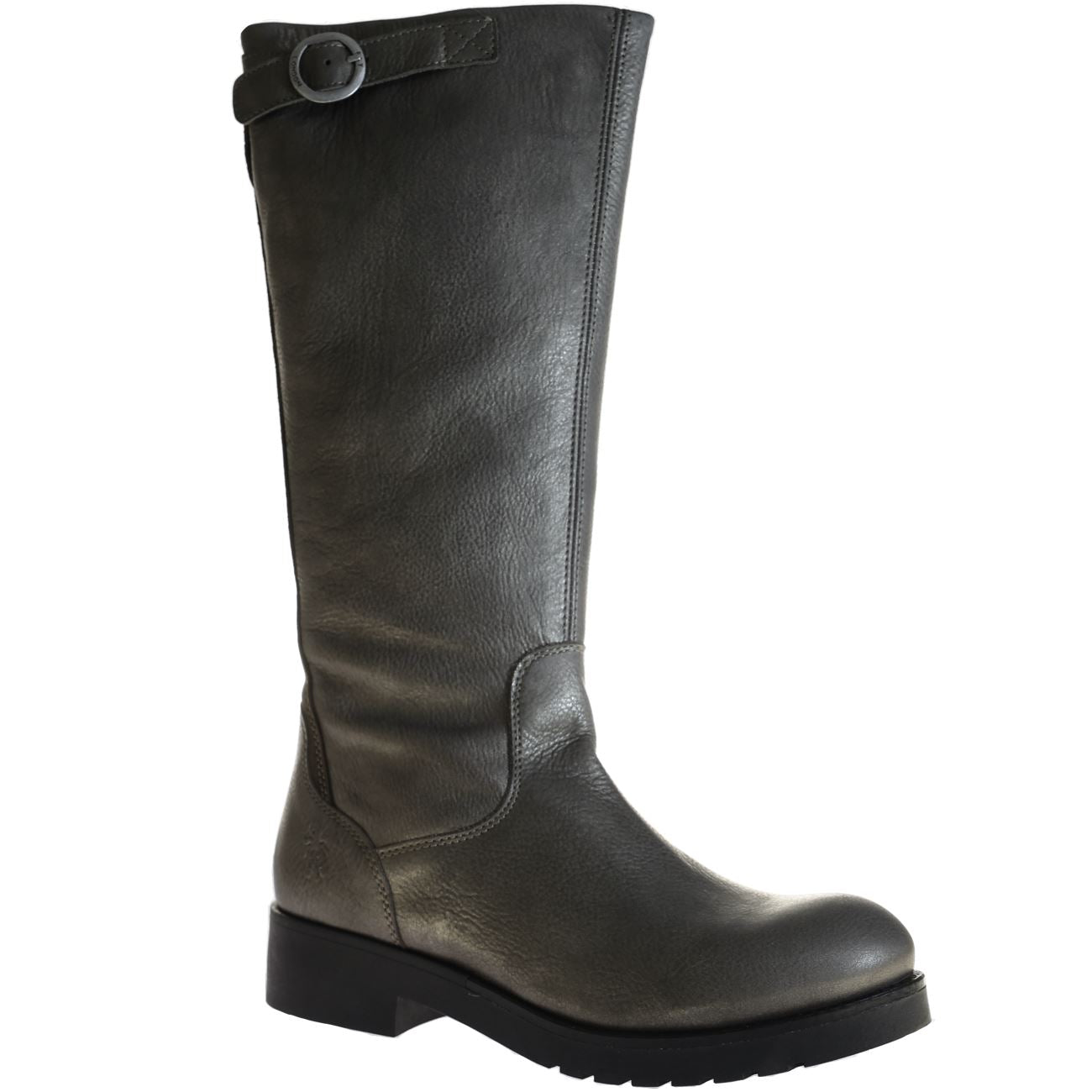 Fly London, Beko, Boot, Leather, Grey/Ground 002 Boots Fly London Grey/Ground 002 37